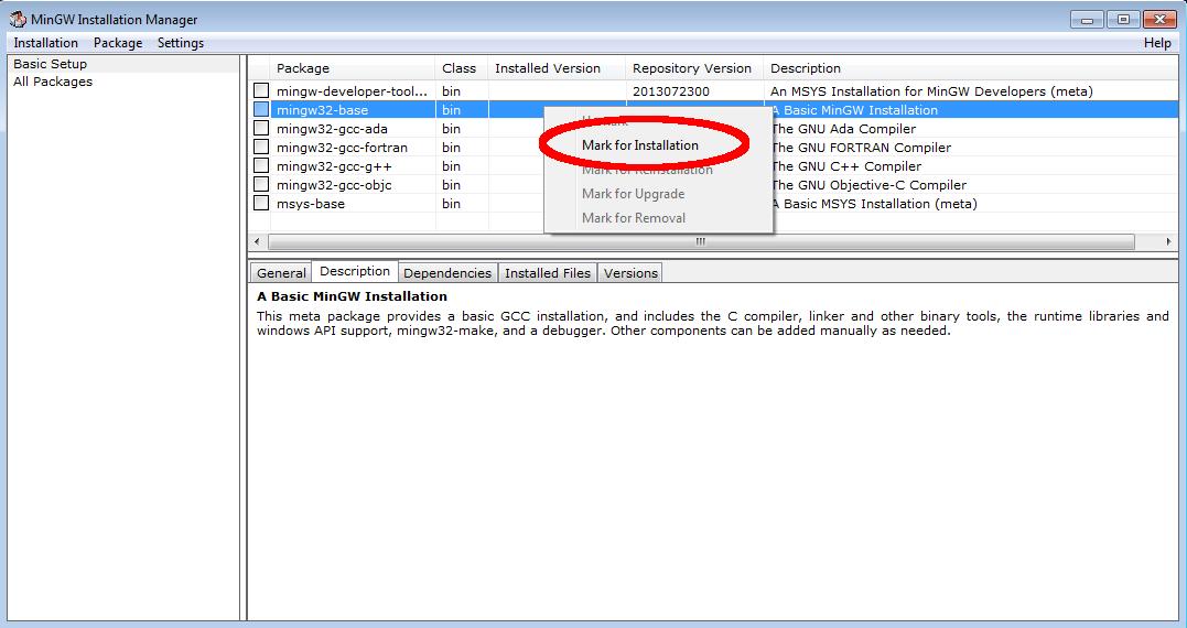 installer gcc windows 10